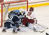 Cassidy Herman (Maine - 18), Carly Jackson (Maine - 33), Makenna Newkirk (BC - 19) - The Boston College Eagles defeated the visiting University of Maine Black Bears 2-1 on Saturday, October 8, 2016, at Kelley Rink in Conte Forum in Chestnut Hill, Massachusetts.  The University of North Dakota Fighting Hawks celebrate their 2016 D1 national championship win on Saturday, April 9, 2016, at Amalie Arena in Tampa, Florida.