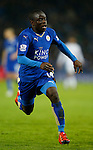 Ngolo Kante of Leicester City in action - English Premier League - Leicester City vs Chelsea - King Power Stadium - Leicester - England - 14th December 2015 - Picture Simon Bellis/Sportimage