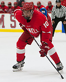 Beau Starrett (Cornell - 10) - The Harvard University Crimson defeated the visiting Cornell University Big Red on Saturday, November 5, 2016, at the Bright-Landry Hockey Center in Boston, Massachusetts.