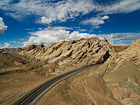 San Rafael Swell and Interstate 70, Near Green River, Utah