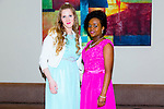Enjoying the NAGS College Ball at Ballyroe Heights on Thursday were Gunita Kiselevska and Alice Nheweyembwa