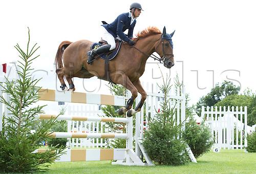 29th July 2010: Longines, Royal International, Horse Show, Show Jumping, Hickstead, England, Julien Epaillard of FRA on Mister DavierThe Bunn Leisure Trophy