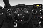Car pictures of steering wheel view of a 2015 Audi S3 Premium Plus 4 Door Sedan