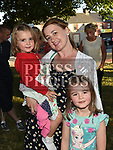 Lucy, Hannah and Emilee Crosby at the Under the Tree concert on the green at Duleek. Photo:Colin Bell/pressphotos.ie