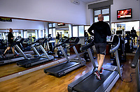 The gendarmes' gym.The Vatican's gendarme corps  of Vatican City State (Italian: Corpo della Gendarmeria dello Stato della Città del Vaticano) is the gendarmerie, or police and security force, of Vatican City and the extraterritorial properties of the Holy See.<br /> The 130-member corps is led by an Inspector General, currently Domenico Giani,The corps is responsible for security, public order, border control, traffic control, criminal investigation, and other general police duties in Vatican City.2019
