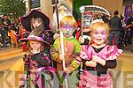 Saoirse Quinn, Finn O'Donnell, Noirin Healy, Donnacha Horgan, Aodhan Horgan and Eabha-May Horgan at the Killarney Outlet Centre Halloween Fancy Dress Parade last Sunday.