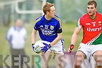 Colm Cooper Kerry in action against Aidan O'Shea Mayo in the National Football League in Austin Stack Park on Sunday..