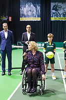 Rotterdam, The Netherlands, 14 Februari 2019, ABNAMRO World Tennis Tournament, Ahoy, Wheelchair final doubles, Esther Vergeer,<br /> Photo: www.tennisimages.com/Henk Koster