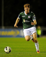 27th October 2014; SSE Airtricity League Promotion Playoff, Leg 1, UCD v Galway FC, UCD Bowl, Belfield, Dublin.  Gary Shanahan, Galway FC.<br /> Picture credit: Tommy Grealy/actionshots.ie.
