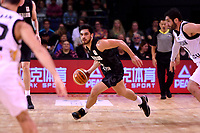New Zealand Tall Blacks' Shea Ili in action during the the FIBA World Cup Basketball Qualifier - NZ Tall Blacks v Jordan at Horncastle Arena, Christchurch, New Zealand on Thursday 29 November  2018. <br /> Photo by Masanori Udagawa. <br /> www.photowellington.photoshelter.com