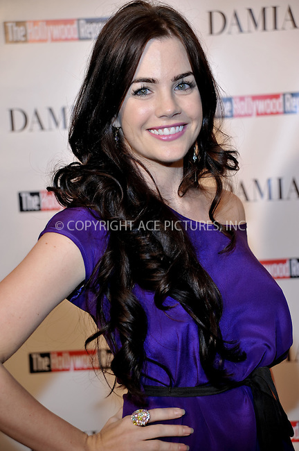 WWW.ACEPIXS.COM . . . . . ....December 3 2009, Hollywood....Actress JJillian Murray at the Damiani Diamonds & The Hollywood Reporter Power 100 Women in Entertainment on December 3, 2009 in Beverly Hills, California.....Please byline: JOE WEST- ACEPIXS.COM.. . . . . . ..Ace Pictures, Inc:  ..(646) 769 0430..e-mail: info@acepixs.com..web: http://www.acepixs.com