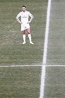 Real Madrid's Cristiano Ronaldo dejected during La Liga match.February 7,2015. (ALTERPHOTOS/Acero) /NORTEphoto.com