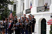 """United States President Donald J. Trump hosts a Celebration of America on the South Lawn of the White House, in Washington, D.C., on June 5, 2018.  The President came-up with this event after he uninvited the Super Bowl Champion Philadelphia Eagles to the White House for the traditional Presidential celebration.  In a statement, the President said """"They disagree with their President because he insists that they proudly stand for the National Anthem, hand on heart, in honor of the great men and women of our military and the people of our country.  The Eagles wanted to send a smaller delegation, but the 1,000 fans planning to attend the event deserve better.""""<br /> Credit: Martin H. Simon / CNP"""