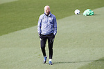 Real Madrid's coach Zinedine Zidane during training session. February 14,2017.(ALTERPHOTOS/Acero)