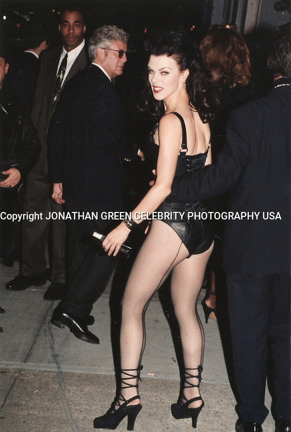 Debi Mazar arrives at Madonnas Book<br />