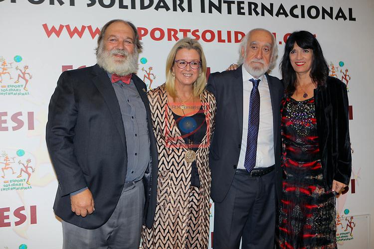 XIV Sopar Solidari de Nadal.<br /> Esport Solidari Internacional-ESI.<br /> Miquel Matas, Anna Tarres, Josep Maldonado & Pilar Calvo.