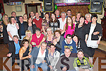 Mary Kelly Castleisland seated centre who celebrated her 60th birthday with her family and friends in the Kingdom House Castleisland on Friday night..