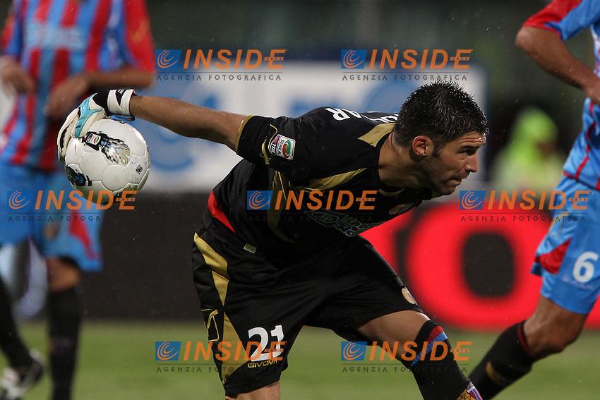 "Mariano Gonzalo Andujar Catania..Catania 15/10/2011 Stadio ""Massimino""..Football / Calcio Serie A 2011/2012..Catania vs Inter..Foto Paolo Nucci Insidefoto"