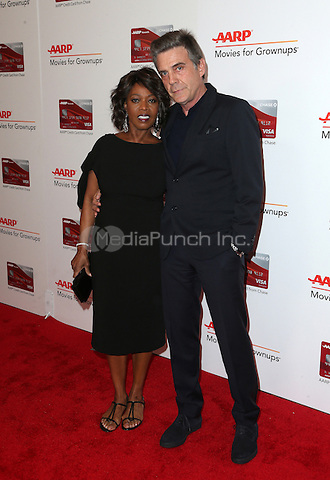 Beverly Hills, CA - FEBRUARY 06: Alfre Woodard, Roderick Spencer, At 16th Annual AARP The Magazine's Movies For Grownups Awards, At The Beverly Wilshire Four Seasons Hotel In California on February 06, 2017. Credit: Faye Sadou/MediaPunch