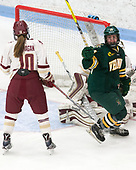 Saana Valkama (UVM - 24) -  The Boston College Eagles defeated the University of Vermont Catamounts 4-3 in double overtime in their Hockey East semi-final on Saturday, March 4, 2017, at Walter Brown Arena in Boston, Massachusetts.