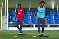 Nathaniel Chalobah during the part open training session of the  England national football squad at St George's Park, Burton-Upon-Trent, England on 31 August 2017. Photo by James Williamson.