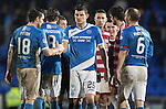 St Johnstone v Hamilton Accies…28.01.17     SPFL    McDiarmid Park<br />Two goal man Graham Cummins at full time<br />Picture by Graeme Hart.<br />Copyright Perthshire Picture Agency<br />Tel: 01738 623350  Mobile: 07990 594431