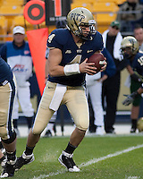 Pittsburgh quarterback Andrew Janocko.The Pittsburgh Panthers defeated the South Florida Bulls 41-14 at Heinz Field, Pittsburgh, PA on October 24, 2009.