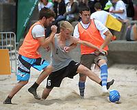 130119 Football - Wellington Beach Soccer Tournament