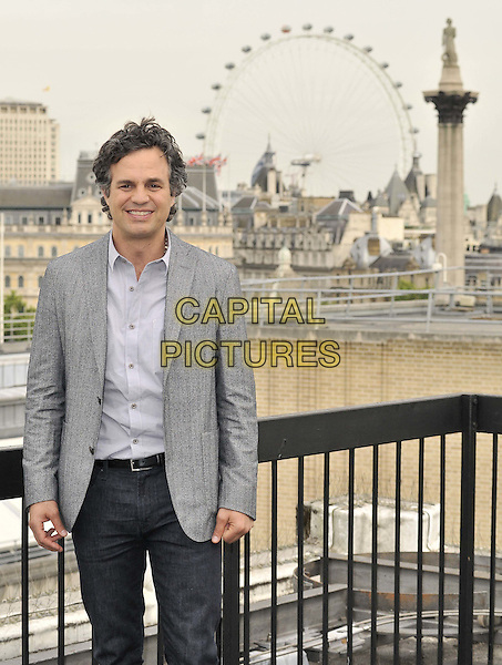 LONDON, ENGLAND - JULY 02: Mark Ruffalo attends the &quot;Begin Again&quot; press photocall on the rooftop of Picturehouse Cinemas Ltd., St Vincent House, Orange St., on Wednesday July 02, 2014 in London, England, UK.<br /> CAP/CAN<br /> &copy;Can Nguyen/Capital Pictures