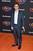 LOS ANGELES, CA - NOVEMBER 08: Actor Gael Garcia Bernal arrives at the premiere of Disney Pixar's 'Coco' at El Capitan Theatre on November 8, 2017 in Los Angeles, California.<br /> CAP/ROT/TM<br /> &copy;TM/ROT/Capital Pictures
