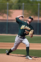 Casey Meisner - Oakland Athletics 2016 spring training (Bill Mitchell)