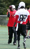 Travis Moore Ottawa RedBlacks coach 2014. Photo Scott Grant