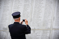 &copy;Mitch Wojnarowicz Photographer<br /> <br /> 17th Annual New York State Fallen Firefighters Memorial Ceremony at the Empire State Plaza in Albany NY 10/7/14<br /> <br /> Mitch Wojnarowicz makes no representation wether or not releases are required for client uses of this image and client is solely responsible for securing any necessary releases, clearances or permissions prior to using this image.<br /> <br /> 20141007<br /> Not a royalty free image. COPYRIGHT PROTECTED<br /> www.mitchw.com<br /> <br /> 518 843 0414_Mitchw@nycap.rr.com<br /> ANY USE REQUIRES A WRITTEN LICENSE