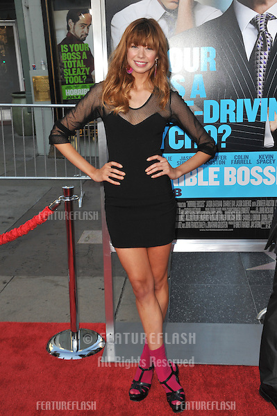 "Analeigh Tipton at the Los Angeles premiere of ""Horrible Bosses"" at Grauman's Chinese Theatre, Hollywood..June 30, 2011  Los Angeles, CA.Picture: Paul Smith / Featureflash"