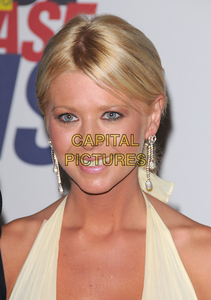 TARA REID .Attending The 15th Annual Race to Erase MS Fundraiser held at The The Hyatt Regency Century Plaza Hotel in Century City, California, USA,.May 02 2008..portrait headshot yellow halterneck earrings .CAP/DVS.©Debbie VanStory/Capital Pictures