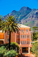 Belmond Mount Nelson Hotel (Table Mountain in background), Cape Town, South Africa.