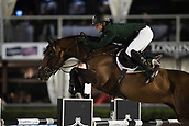 29th September 2017, Real Club de Polo de Barcelona, Barcelona, Spain; Longines FEI Nations Cup, Jumping Final; SWEETNAM Shane (IRL)  riding Chaqui Z during the final of the Nations Cup