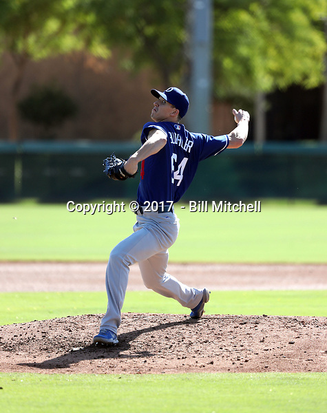 Walker Buehler - 2017 AIL Dodgers (Bill Mitchell)