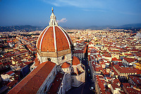 Overview of the Duomo (cathedral) in Florence, Italy