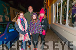 Emma, Kaitlin and Mort Faley (Tralee) with Maria Griffin (Listowel) enjoying New Year's Eve in Dingle.