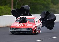 May 5, 2017; Commerce, GA, USA; NHRA pro mod driver Doug Winters during qualifying for the Southern Nationals at Atlanta Dragway. Mandatory Credit: Mark J. Rebilas-USA TODAY Sports
