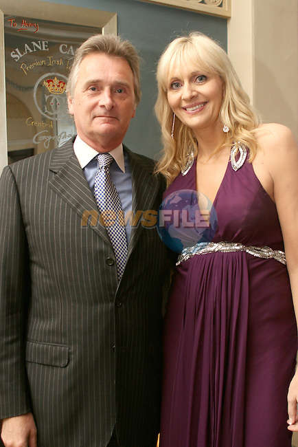 Lord Henry Mountcharles and Mirium O'Callaghan at the Fashion Show in Slane Castle in aid of Stackallen Tennis and Pitch and Putt Club and supporting Action Breast Cancer...Photo NEWSFILE/Jenny Matthews.(Photo credit should read Jenny Matthews/NEWSFILE)....This Picture has been sent you under the condtions enclosed by:.Newsfile Ltd..The Studio,.Millmount Abbey,.Drogheda,.Co Meath..Ireland..Tel: +353(0)41-9871240.Fax: +353(0)41-9871260.GSM: +353(0)86-2500958.email: pictures@newsfile.ie.www.newsfile.ie.FTP: 193.120.102.198.