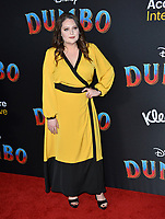 """LOS ANGELES, CA. March 11, 2019: Lauren Ash at the world premiere of """"Dumbo"""" at the El Capitan Theatre.<br /> Picture: Paul Smith/Featureflash"""