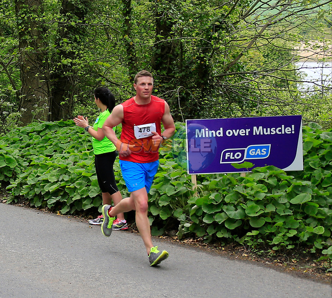 Donal Nugent during The Boyne 10K run in Drogheda <br /> Picture: www.newsfile.ie