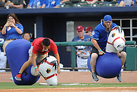 NWA Democrat-Gazette/ANDY SHUPE<br /> Northwest Arkansas Naturals Arkansas Travelers Saturday, June 10, 2017, during the inning at Arvest Ballpark in Springdale. Visit nwadg.com/photos to see more photographs from the game.