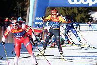 5th January 2020; Val Di Fiemme Ski Resort, Val Di Fiemme, Trento, Italy; International Ski Federation Audi FIS Womens Cross Country Ski World Cup, Tour De Ski Val Di Fiemme; Katharina Henning (GER)