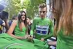 Marcel Kittel (GER) Quick-Step Floors retains the Green Jersey at the end of Stage 13 of the 104th edition of the Tour de France 2017, running 101km from Saint-Girons to Foix, France. 14th July 2017.<br /> Picture: ASO/Bruno Bade | Cyclefile<br /> <br /> <br /> All photos usage must carry mandatory copyright credit (&copy; Cyclefile | ASO/Bruno Bade)