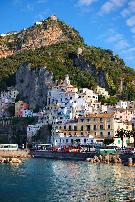 Harbour of Amalfi, Italy