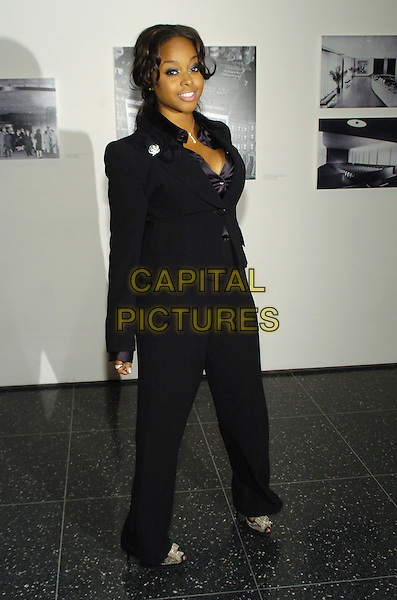"CHRISETTE MICHELE.The 39th annual ""The Party in the Garden"" at the Museum of Modern Art, New York City, New York, USA..May 15th, 2007.full length jacket black brooch jacket suit.CAP/ADM/BL.©Bill Lyons/AdMedia/Capital Pictures *** Local Caption ***"