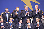The Opening ceremony to the 2010 Ryder Cup at the Celtic Manor twenty ten course, Newport Wales, 30/9/2010 on Practice Day 3..the European team vice captains Paul McGinley, Sergio Garcia, Darren Clarke and Thomas Bjorn..Picture Manus O'Reilly/www.golffile.ie.